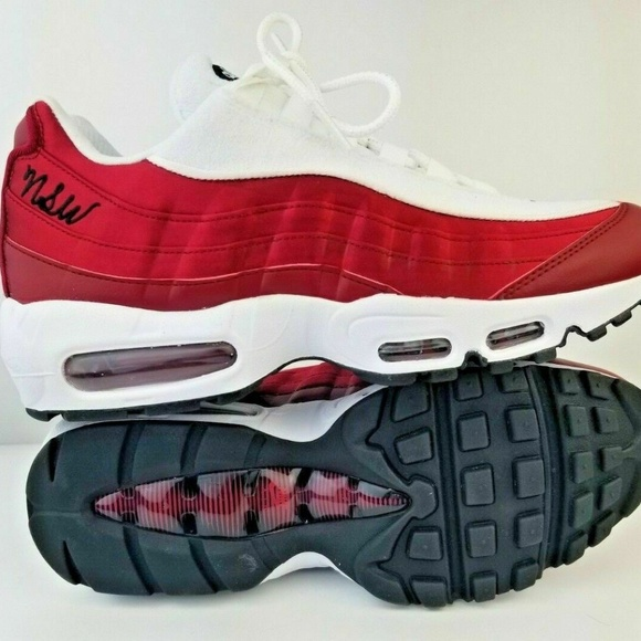 Nike Air Max 95 LX NSW Red Crush White sneakers NWT